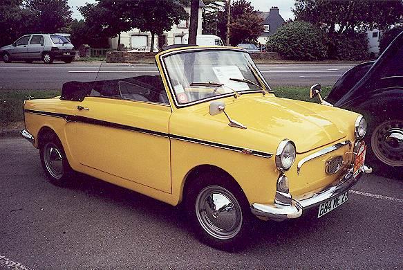 crozon voiture ancienne photo d 39 un petit cabriolet autobianchi eden roc 1966. Black Bedroom Furniture Sets. Home Design Ideas